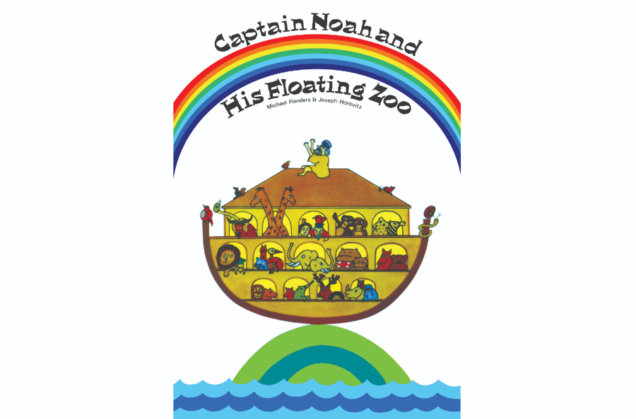 50th anniversary of Captain Noah and his Floating Zoo by Joseph Horovitz