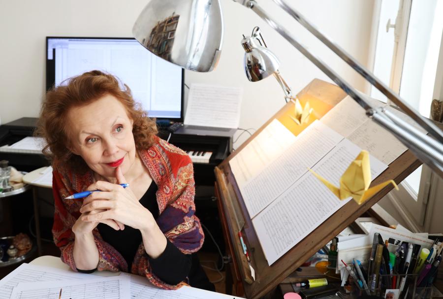Kaija Saariaho awarded the Golden Lion for Lifetime Achievement