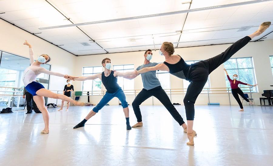 Tarik O'Regan scoring Oregon Ballet Theatre's return to the stage