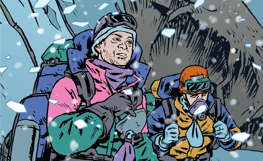 Joby Talbot Everest: A Graphic Novel Opera