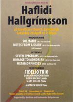 Hallgrímsson at 60