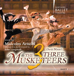 Arnold's Three Musketeers on disc