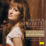 Tavener featured on new Benedetti disc
