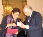Horovitz awarded Austrian Cross of Honour