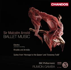 Malcolm Arnold ballet music