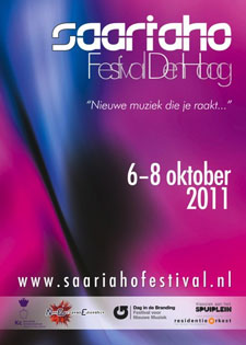 Saariaho Festival The Hague: October 6 – 8