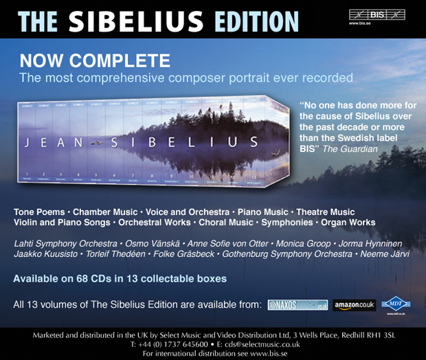 The Sibelius Edition released