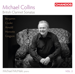 Michael Collins performs British clarinet works in new CD release