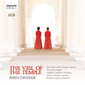 Tavener: The Veil of the Temple re-release