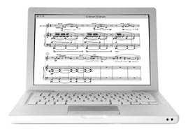 NEW Music Sales Choral Binders - view scores online