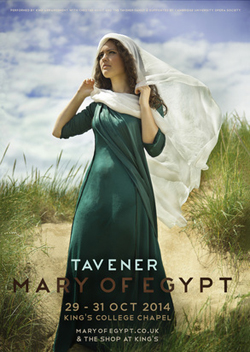 Tavener's Mary of Egypt UK Premiere