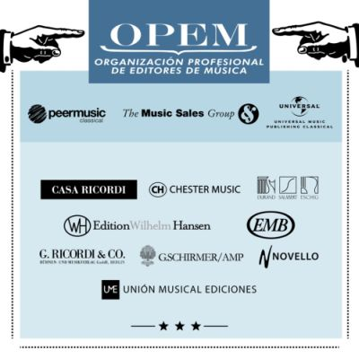 UME / THE MUSIC SALES GROUP Y OPEM PRESENTES EN EXPOCLÁSICA