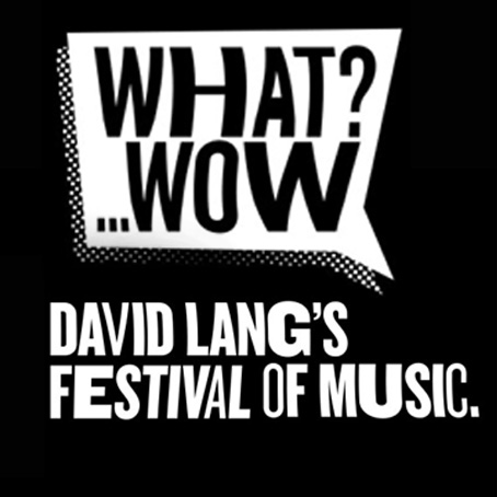David Lang curates new contemporary music festival