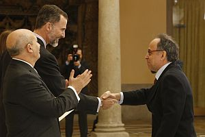 Benet Casablancas receives National Music Prize from the King of Spain