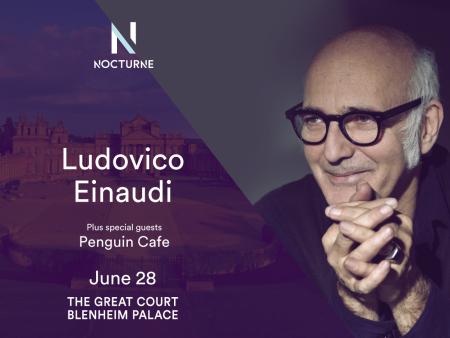 Ludovico Einaudi: Nocturne at Blenheim Palace