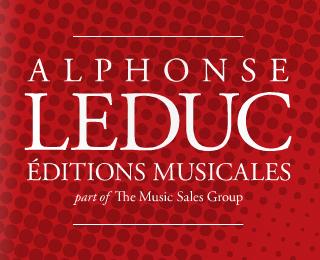 New Music Sales Éditions Alphonse Leduc catalogue published