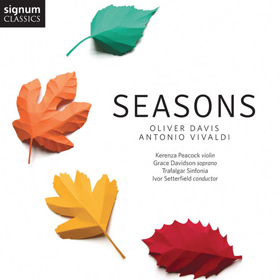 Oliver Davis' new album Seasons at St Martin-in-the-Fields