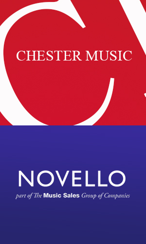 Chester Music & Novello: New Works - February 2017