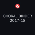 Music Sales Choral Binder 2017-18