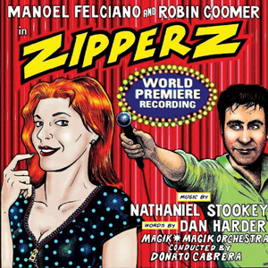 Nathaniel Stookey's CD 'ZIPPERZ' out now