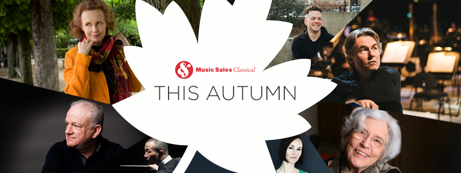 Autumn highlights from Music Sales Classical