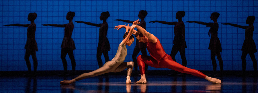 Philip Glass and Jerome Robbins | 'Glass Pieces' at 35