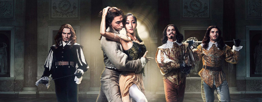 Malcolm Arnold's The Three Musketeers tours England