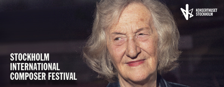 Stockholm International Composer Festival welcomes Thea Musgrave