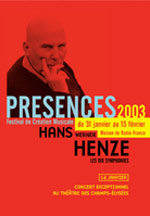 Festival Presences - Paris, Radio France