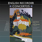 Recorder Concertos on CD