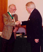 John McCabe receives ISM Award