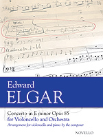 Elgar Cello Concerto - new edition