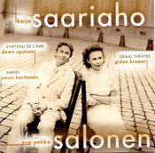 Three major works by Kaija Saariaho out on CD