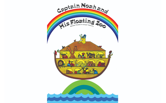 50th anniversary of Captain Noah and his Floating Zoo by Jos