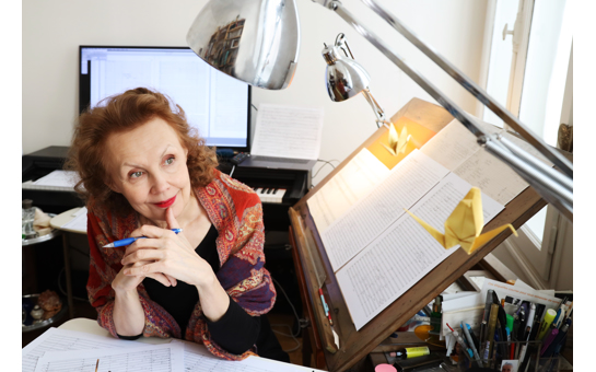 Kaija Saariaho awarded the Golden Lion for Lifetime Achie...