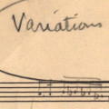 Newly Engraved Parts for Elliott Carter's 'Variations for...