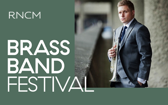 RNCM Brass Band Festival marks Gregson's 75th Birthday