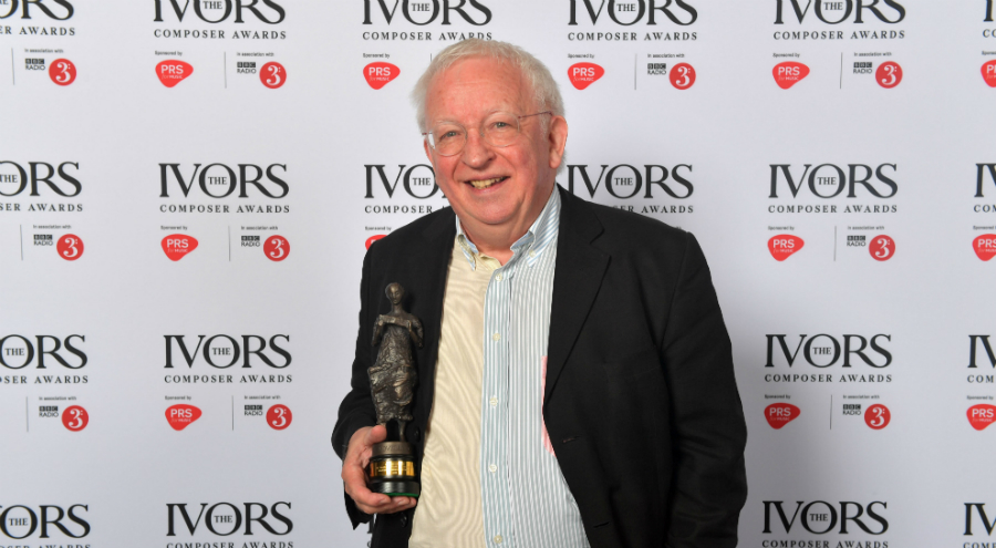 Edward Gregson wins Ivors Composer Award