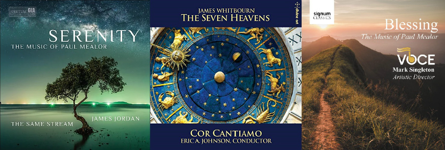 New choral CDs by Mealor and Whitbourn