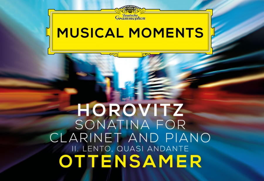 Joseph Horovitz Clarinet Sonatina (Lento) in Musical Moments