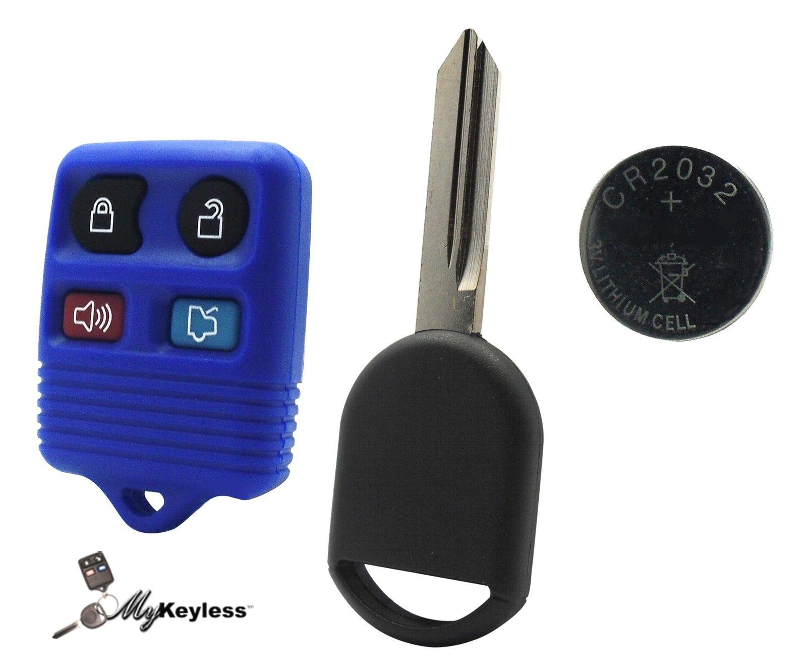 New Blue Ford Lincoln Mercury Keyless Entry Car Remote Key Fob