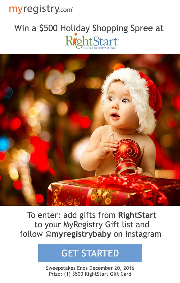 Target 20 Dollar Gift Card Wedding Registry : ... Blog MyRegistry.com + RightStart: A Chance To Win a USD500 Gift Card