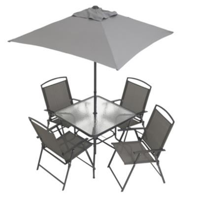 Cranston 6 Piece Sling Folding Patio Set | Walmart.ca - Cranston 6 Piece Sling Folding Patio Set Walmart.ca - MyRegistry