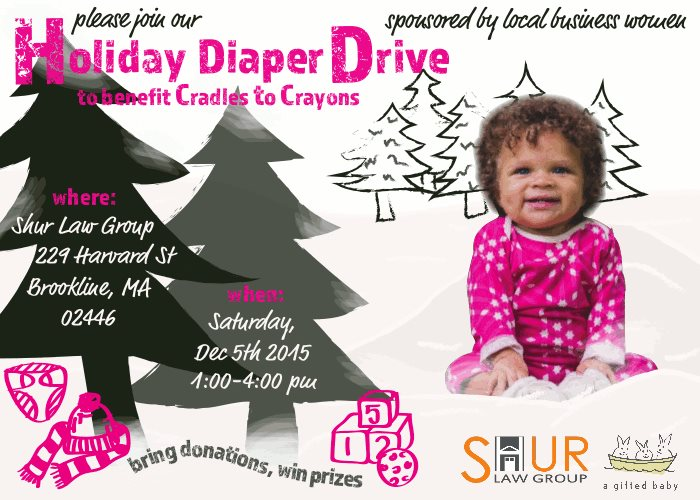 For Cradles to Crayons From Shur Law Group & A Gifted Baby