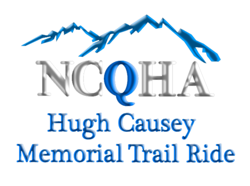 Hugh Causey Memorial Trail Ride Logo
