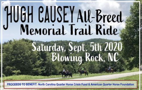 Trail ride flier