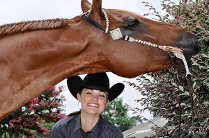 Olivia Turner juggling law studies, horse show career
