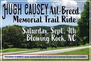 Hugh Causey All-Breed Memorial Trail Ride