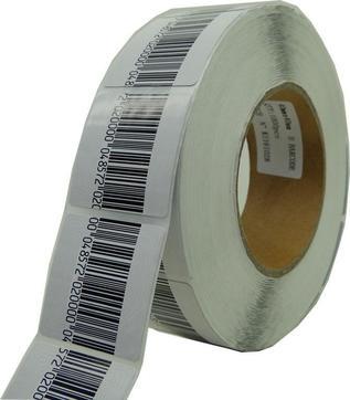 Etiqueta Antifurto Adesiva Rf 4X4 8,2 Mhz