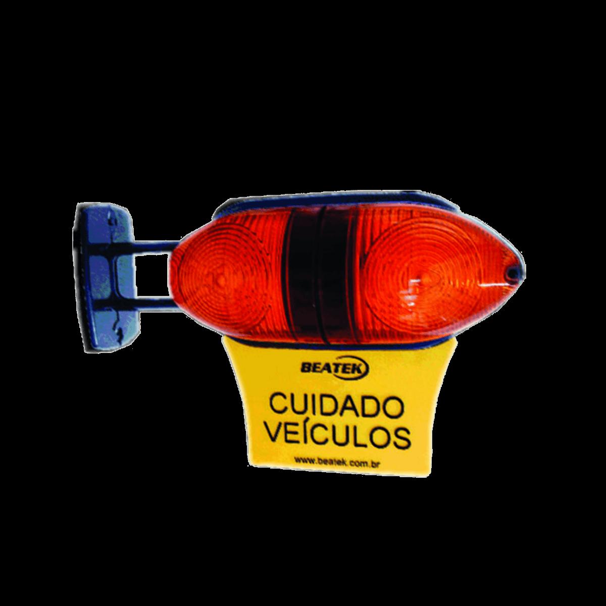 Sinalizador De Garagem 45 Led Audiovisual Beatek Nelponto